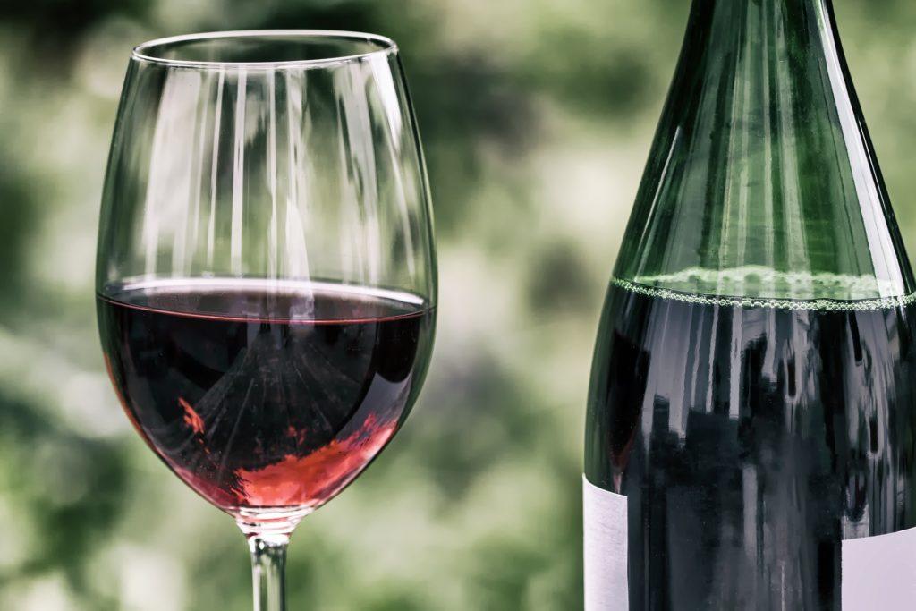 Weinglas Bardolino