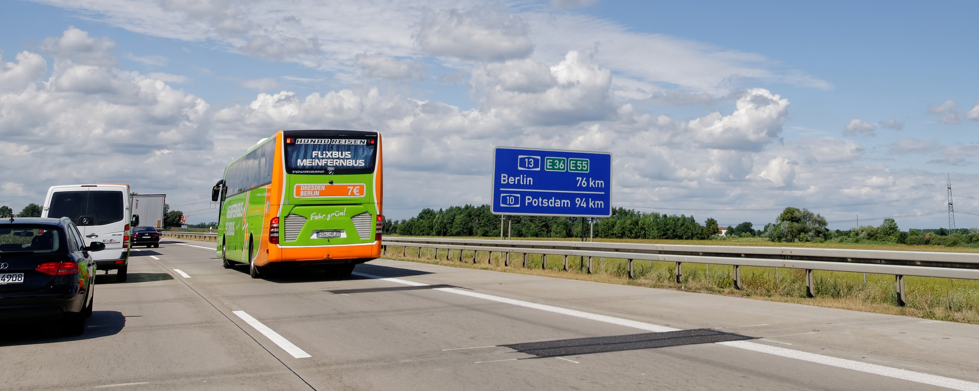 Anreise mit dem Bus zum Gardasee
